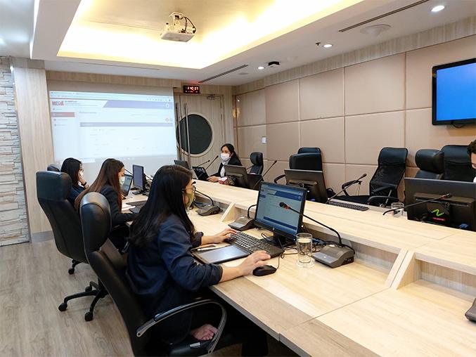 ส่งมอบงาน NEDA  ในการทำระบบ E-Meeting การบริหารจัดการประชุมอิเล็กทรอนิกส์